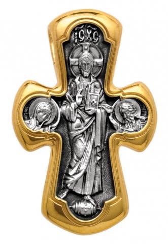 Деисус. Божия Матерь Никопея.  Крест нательный. Aртикул 101.019