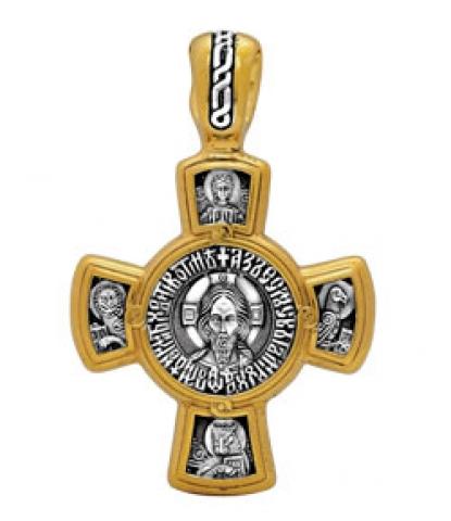 Спас. Касперовская икона Божией Матери. Крест нательный. Aртикул 101.029