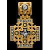 КАТАЛОГ КРЕСТЫ НАТЕЛЬНЫЕ: «Господь Вседержитель. Иерусалимская икона Божией Матери» Артикул  101.263