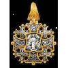 КАТАЛОГ КРЕСТЫ НАТЕЛЬНЫЕ: «Спас с мечом. Вмч. Георгий Победоносец» Артикул  101.264