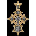 Распятие. Икона «Всецарица». Георгий Победоносец. Блаженные Ксения и Матрона. Артикул: 101.513