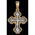 Крест «Распятие. Икона Божией Матери «Семистрельная». Артикул: 101.514