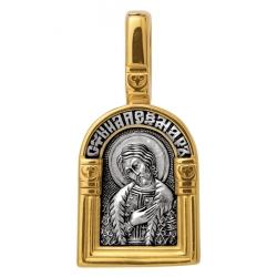Святой благоверный великий князь Александр Невский. Ангел Хранитель. Образок. Aртикул 102.108