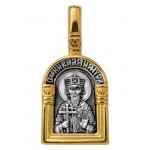 Святой равноапостольный великий князь Владимир. Ангел Хранитель. Образок. Aртикул 102.115
