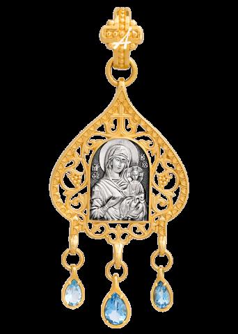 Икона Божией Матери Одигитрия Псково-Печерская. артикул 102.293/K