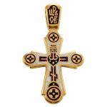 Голгофа. Свет Христов Просвещает Всех.Крест нательный. Aртикул 103.018 (*Изделие выпускается разных цветов)