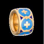 Бусина-разделитель «Крест в круге» артикул 114.087