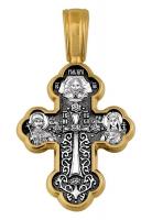 Крестовоздвижение. Донская икона Божией Матери. Крест нательный. Aртикул 101.073