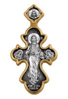 Господь Вседержитель. Икона Божией Матери. Троеручица. Крест нательный. Aртикул 101.204