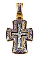 Распятие. Молитва Господу.Крест нательный. Aртикул 103.071 (*Изделие выпускается разных цветов)