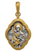 Владимирская икона Божией Матери.Образок. Aртикул 102.003