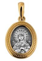 Икона Божией Матери. Умиление. Серафимо-Дивеевская.Образок. Aртикул 102.068