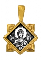 Святая мученица Татиана. Ангел Хранитель. Образок. Aртикул 102.131