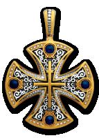 Молитва Животворящему Кресту. Крест нательный. Артикул:  101.230/К