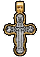 «Голгофа. Икона Божией Матери «Нерушимая Стена» Крест нательный Артикул:  101.260
