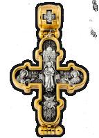 «Преображение Господне. Икона Божией Матери «Валаамская» Мощевик Артикул:  104.258