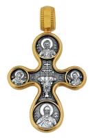 Этимасия. Восемь святых.Крест нательный. Aртикул 101.059